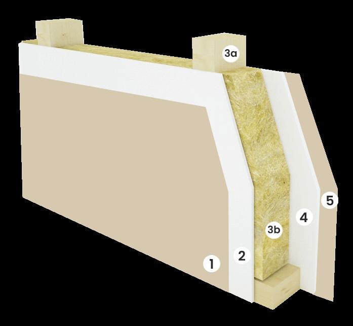 Vnitřní stěna - 165 mm