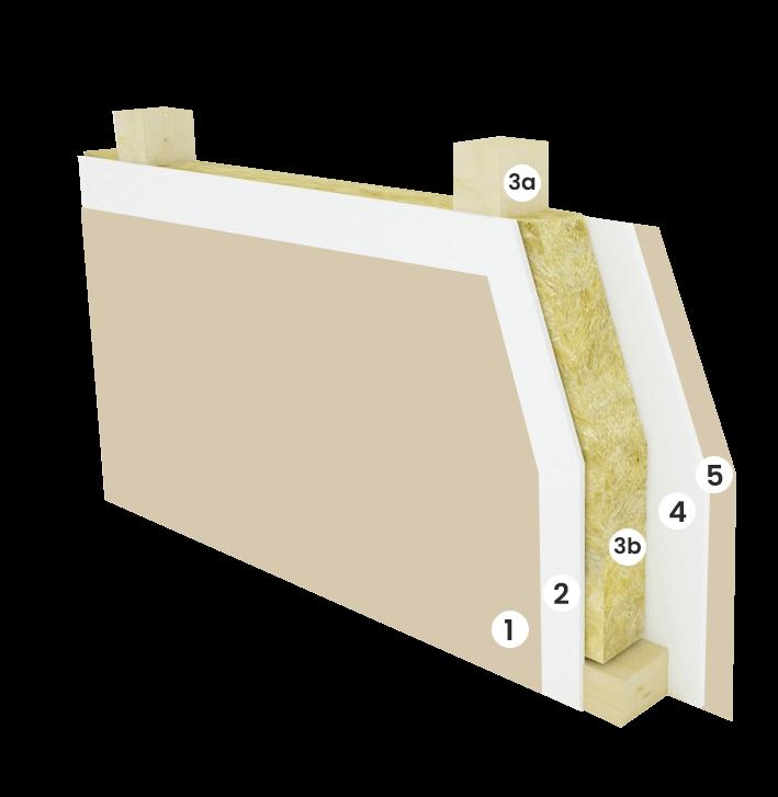 Vnitřní stěna - 125 mm