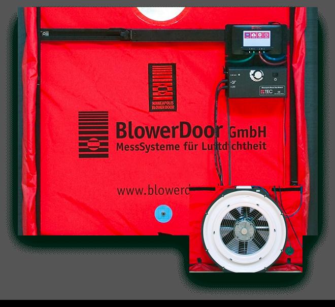 BlowerDoor test