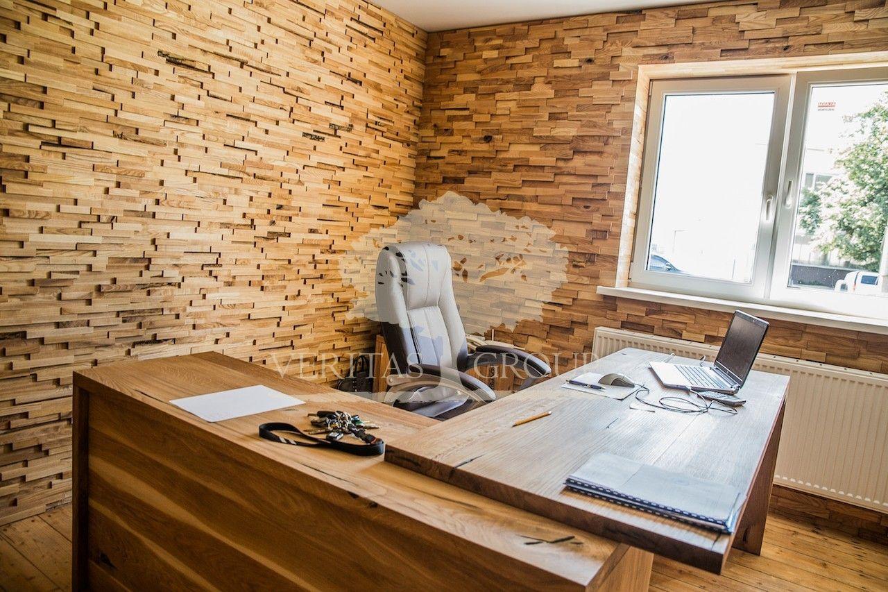 Dřevěné obklady, nábytek